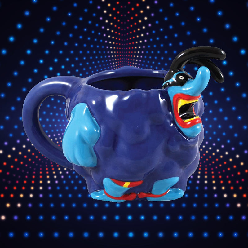 VANDOR ROCKS THE BEATLES YELLOW SUBMARINE BLUE MEANIE SCULPTED CERAMIC MUG