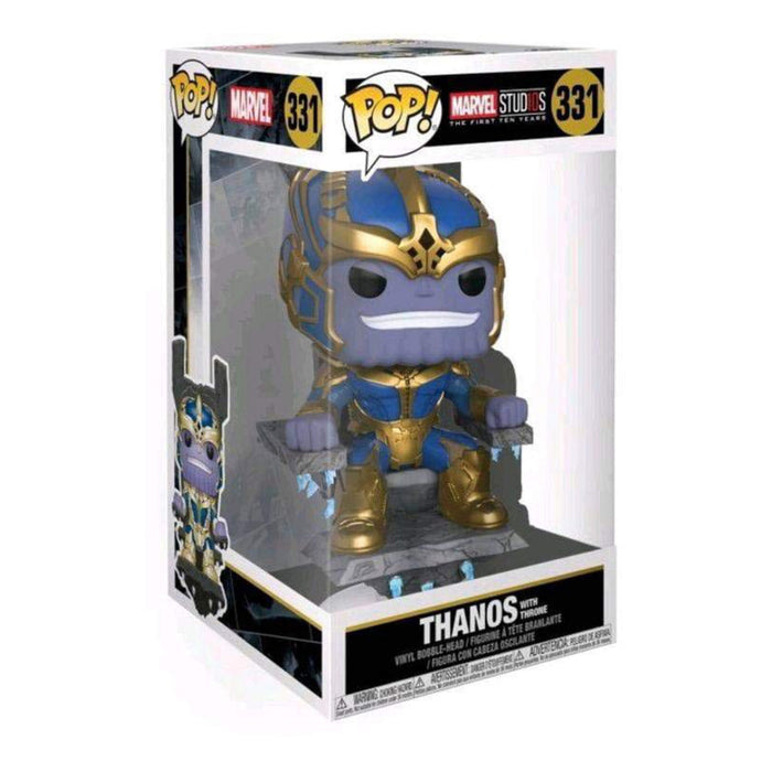 FUNKO POP MARVEL STUD10S THE FIRST TEN YEARS THANOS WITH THRONE 331
