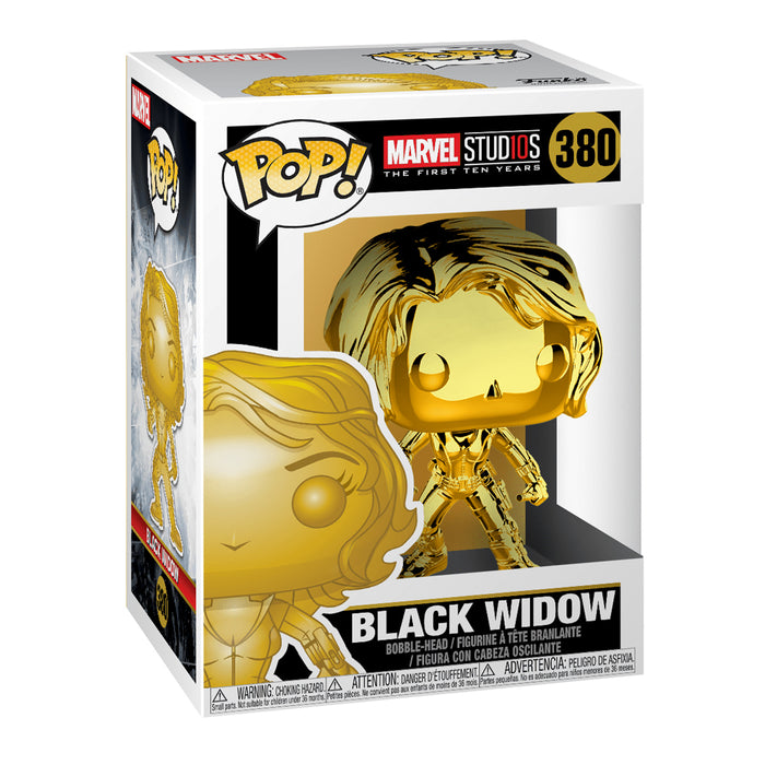 FUNKO POP MARVEL STUD10S THE FIRST TEN YEARS BLACK WIDOW 380