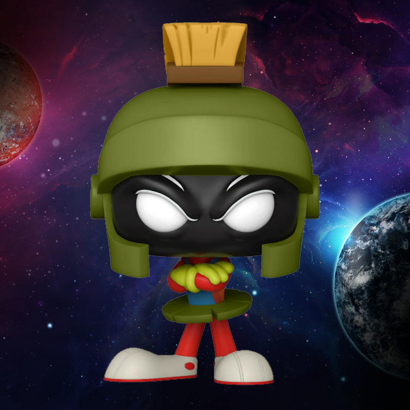 FUNKO POP MOVIES SPACE JAM A NEW LEGACY MARVIN THE MARTIAN 1085 ¡PREVENTA!