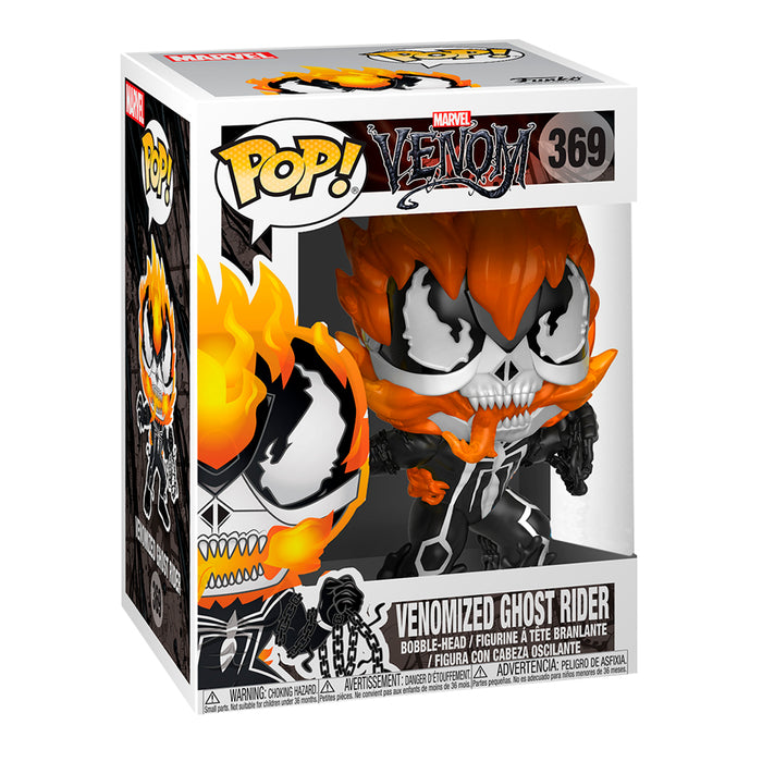FUNKO POP MARVEL VENOM VENOMIZED GHOST RIDER 369