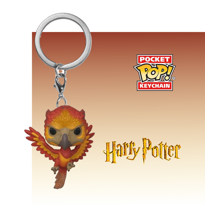 FUNKO KEYCHAIN MOVIES HARRY POTTER FAWKES