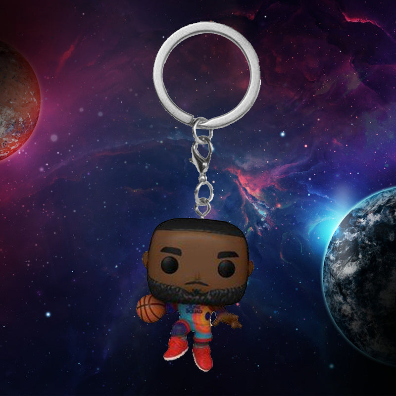 FUNKO KEYCHAIN MOVIES SPACE JAM A NEW LEGACY LEBRON JAMES ¡PREVENTA!