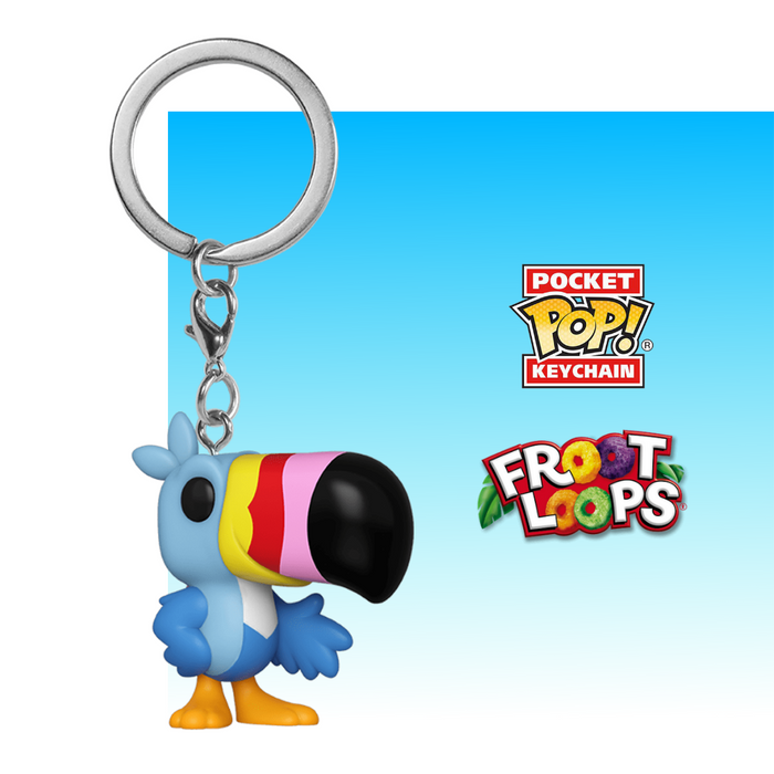 FUNKO KEYCHAIN ICONS FROOT LOOPS TOUCAN SAM