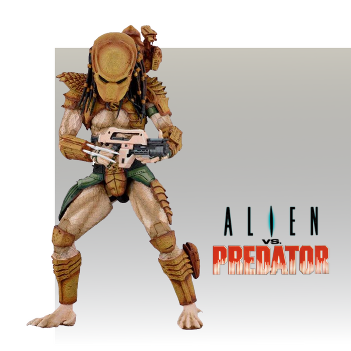 NECA MOVIES ALIEN VS PREDATOR HUNTER PREDATOR