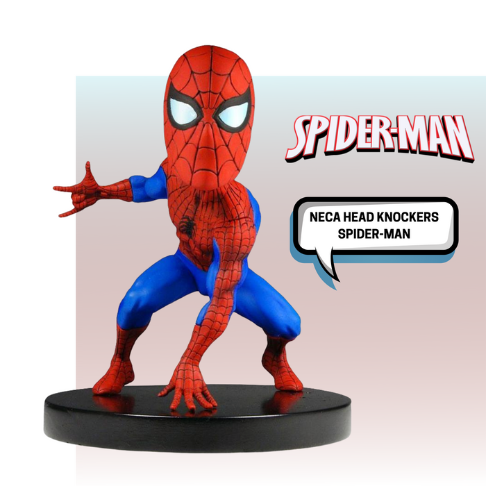 NECA HEAD KNOCKERS MARVEL SPIDER-MAN