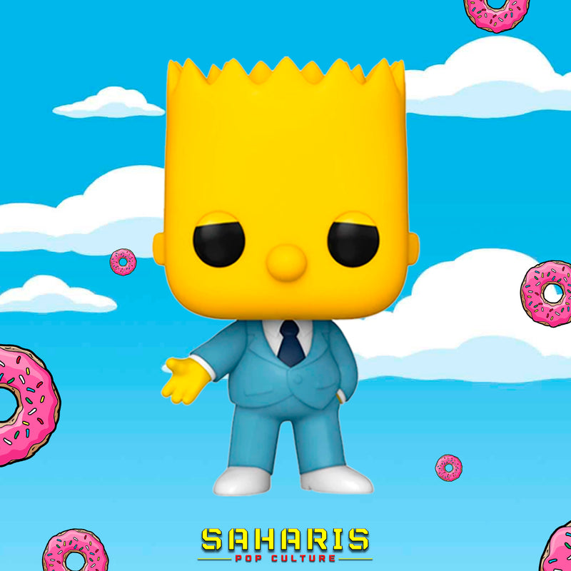 FUNKO POP TV THE SIMPSONS GANGSTER BART 900