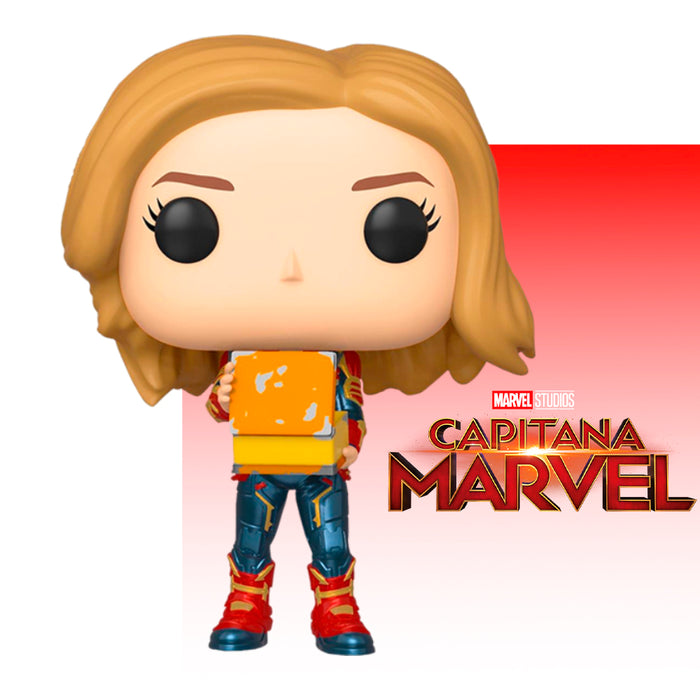 FUNKO POP MARVEL CAPTAIN MARVEL 444