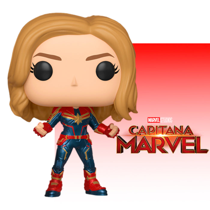 FUNKO POP MARVEL CAPTAIN MARVEL 425