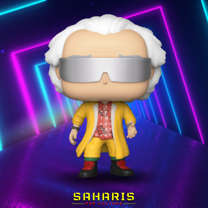 FUNKO POP MOVIES BACK TO THE FUTURE DR. EMMETT BROWN 2015