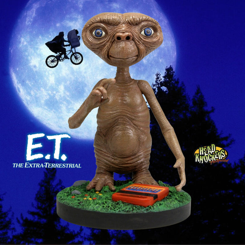 NECA HEAD KNOCKERS MOVIES E.T. THE EXTRA-TERRESTRIAL E.T.