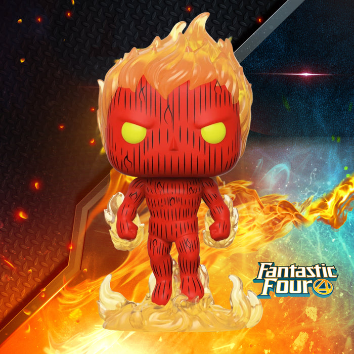 FUNKO POP MARVEL FANTASTIC FOUR HUMAN TORCH 559