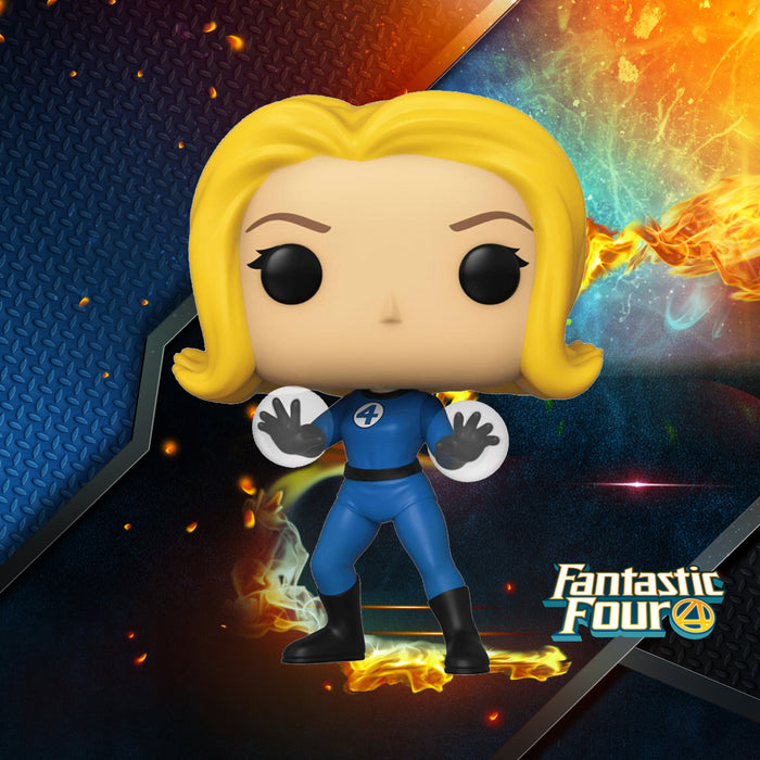 FUNKO POP MARVEL FANTASTIC FOUR INVISIBLE GIRL 558
