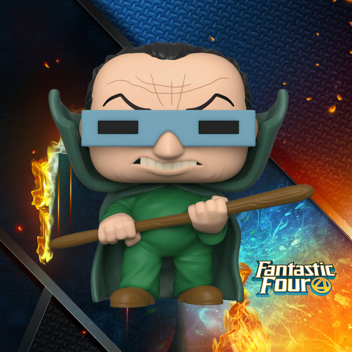 FUNKO POP MARVEL FANTASTIC FOUR MOLE MAN 562