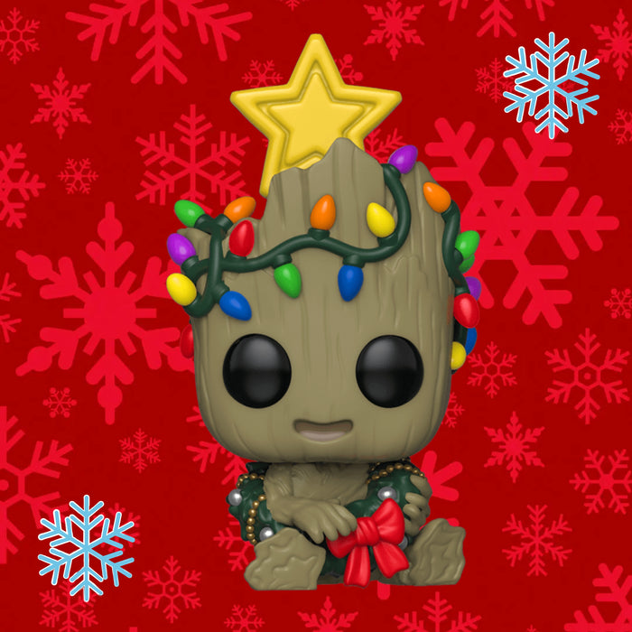 FUNKO POP MARVEL GROOT (HOLIDAY) 530