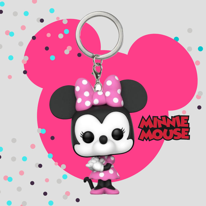 FUNKO KEYCHAIN DISNEY MINNIE