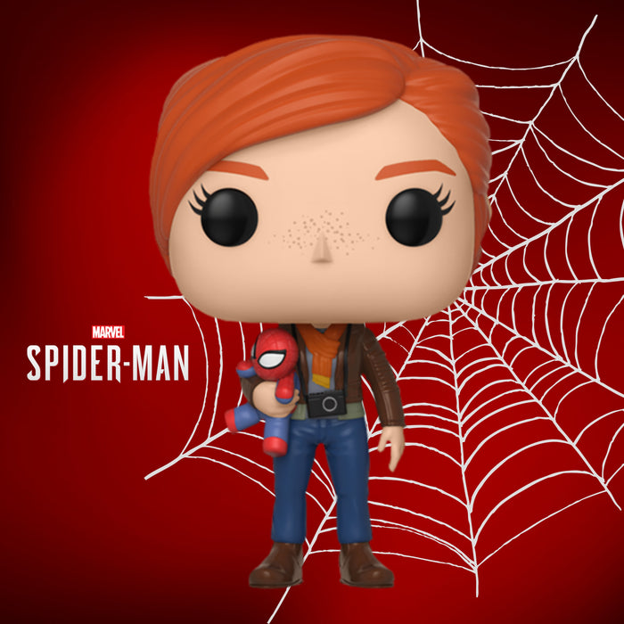 FUNKO POP GAMES MARVEL SPIDER-MAN MARY JANE 396