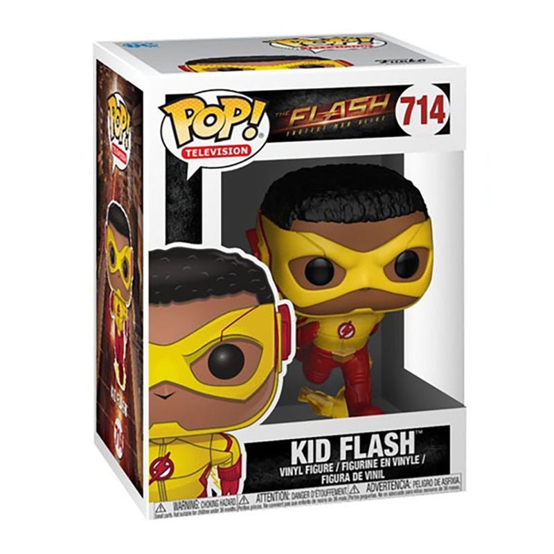 FUNKO POP DC THE FLASH FASTEST MAN ALIVE KID FLASH 714