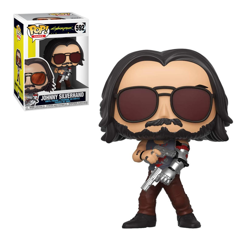 FUNKO POP GAMES CYBERPUNK 2077 JOHNNY SILVERHAND 592