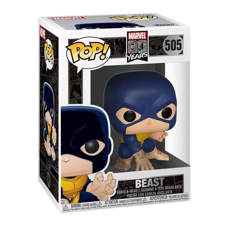 FUNKO POP MARVEL 80TH YEARS BEAST 505