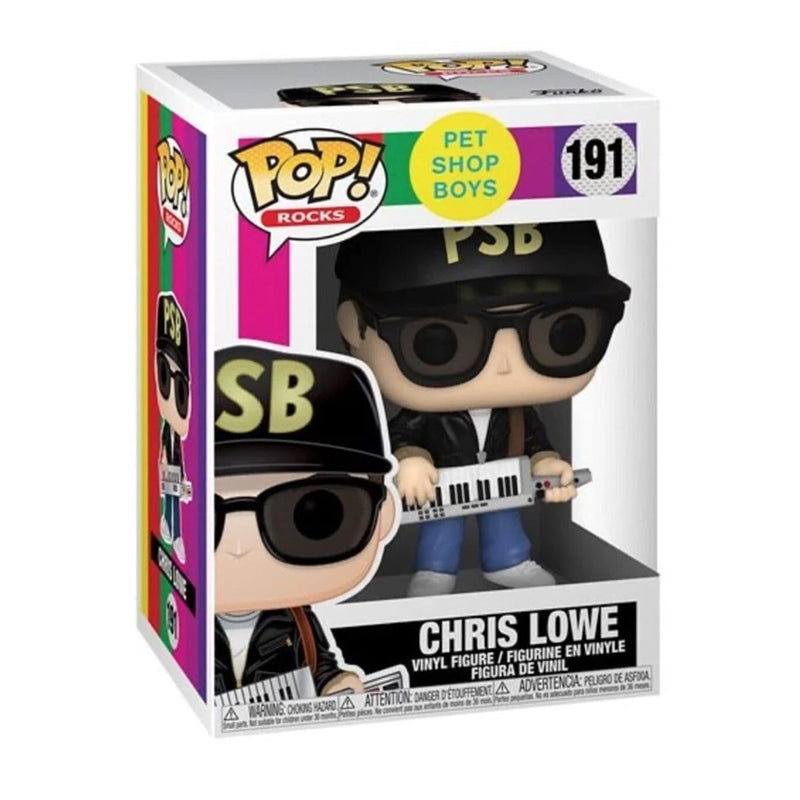 FUNKO POP ROCKS PET SHOP BOYS CHRIS LOWE 191