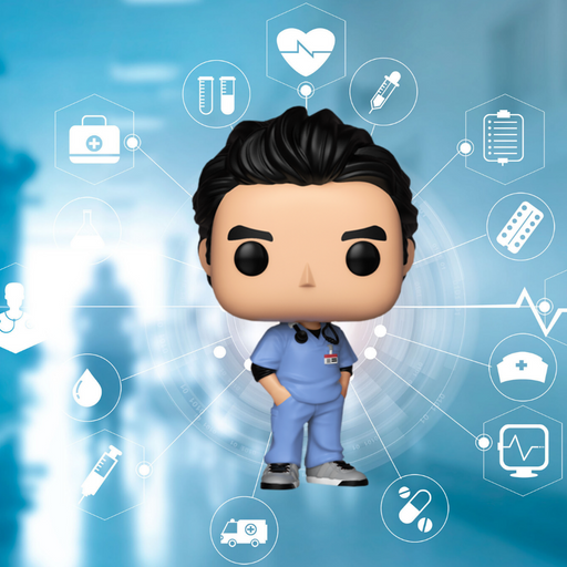 FUNKO POP TV SCRUBS J. D. 737 - Saharis Pop Culture