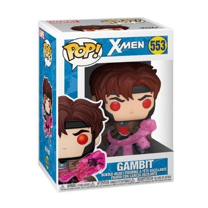 FUNKO POP MARVEL X-MEN GAMBIT 553