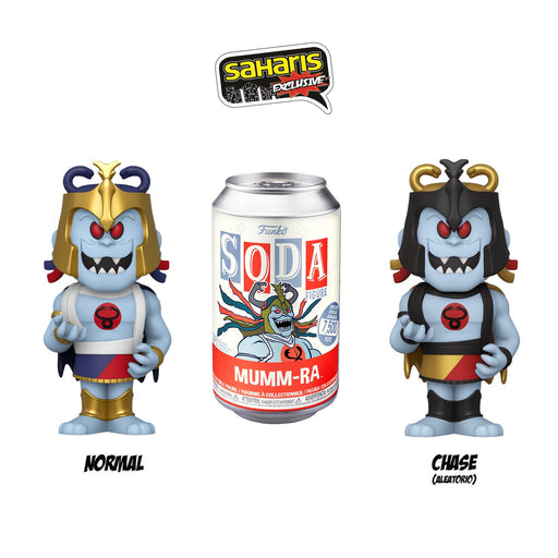 FUNKO SODA MUMM-RA  EXCLUSIVO SAHARIS - Saharis Pop Culture