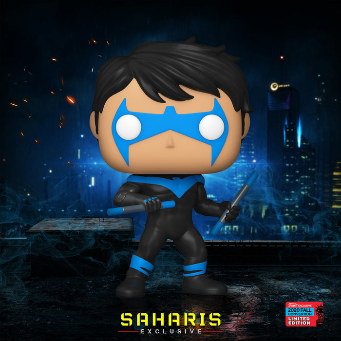 FUNKO POP DC HEROES NIGHTWING 364 EXCLUSIVO SAHARIS
