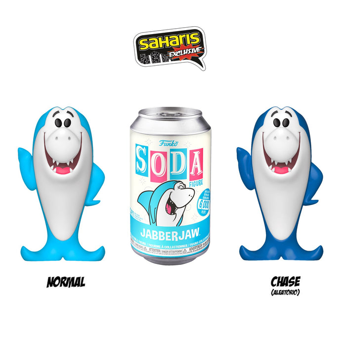 FUNKO SODA JABBERJAW EXCLUSIVO SAHARIS - Saharis Pop Culture