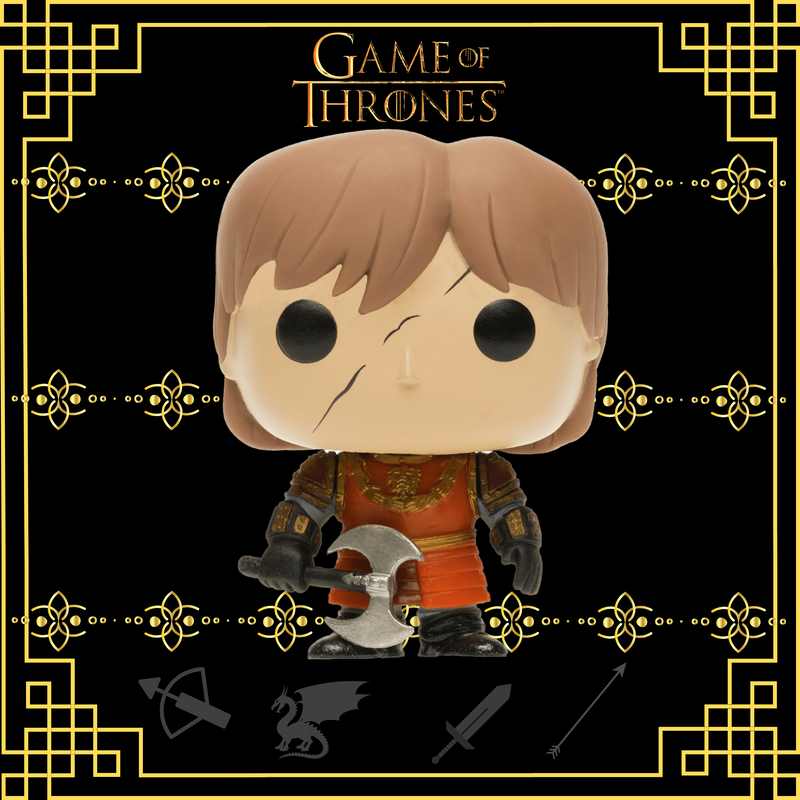 FUNKO POP TV GAME OF THRONES TYRION LANNISTER IN BATTLE ARMOR 21