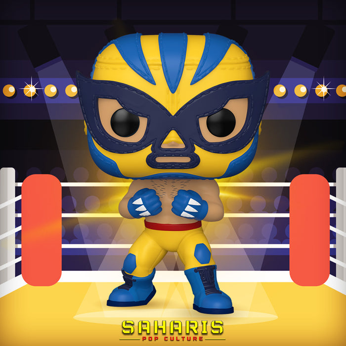 FUNKO POP MARVEL LUCHA LIBRE EDITION EL ANIMAL INDESTRUCTIBLE 711