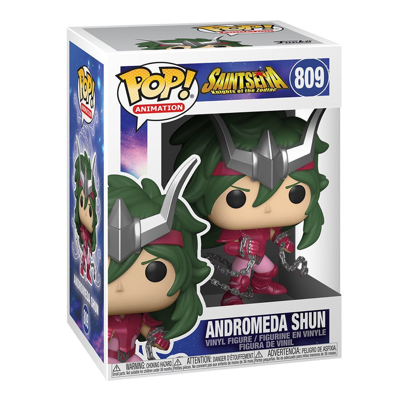FUNKO POP ANIME SAINT SEIYA KNIGHTS OF THE ZODIAC ANDROMEDA SHUN 809