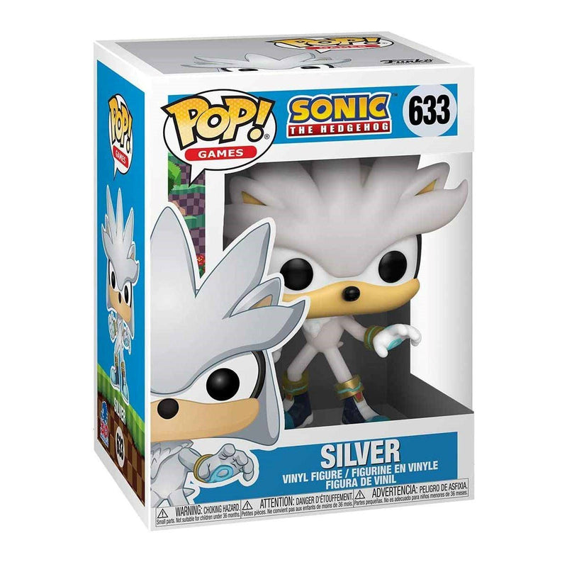 FUNKO POP GAMES SONIC THE HEDGEHOG SILVER 633