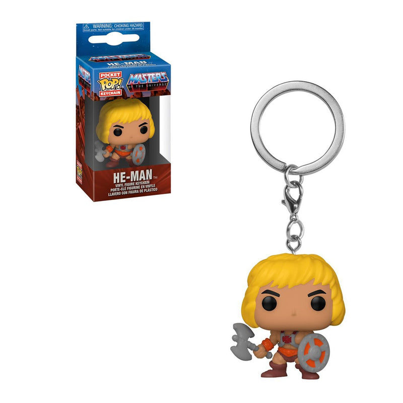 FUNKO POP KEYCHAIN TV MASTERS OF THE UNIVERSE HE-MAN
