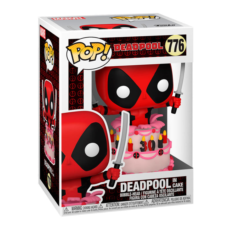 FUNKO POP MARVEL DEADPOOL IN CAKE 776