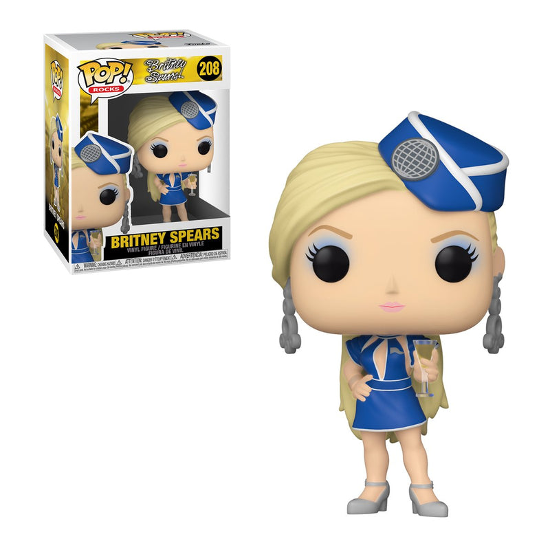 FUNKO POP ROCKS BRITNEY SPEARS 208