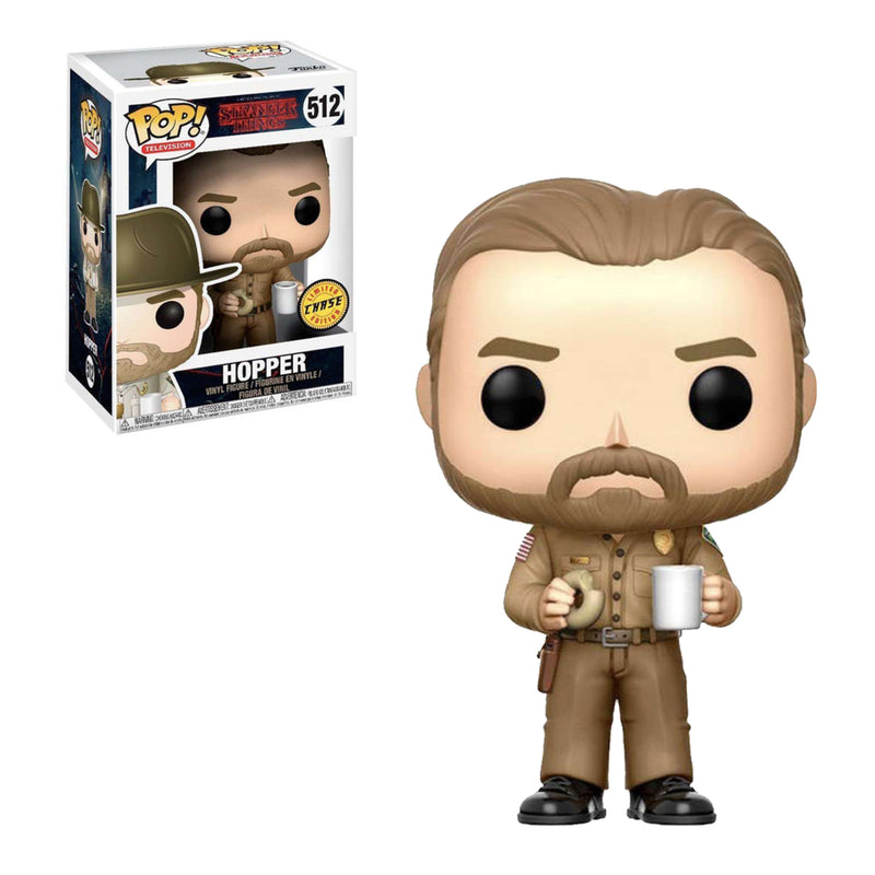 FUNKO POP CHASE TV STRANGER THINGS HOPPER 512