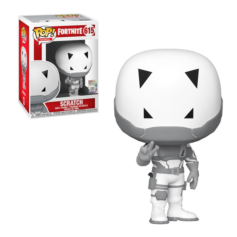 FUNKO POP GAMES FORTNITE SCRATCH 615
