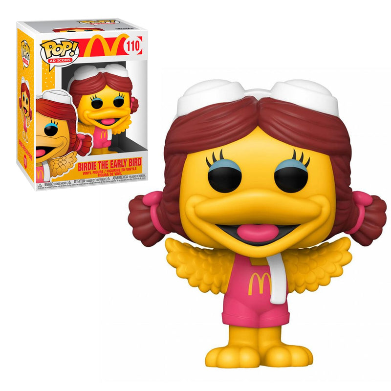 FUNKO POP ICONS MCDONALD'S BIRDIE THE EARLY BIRD 110