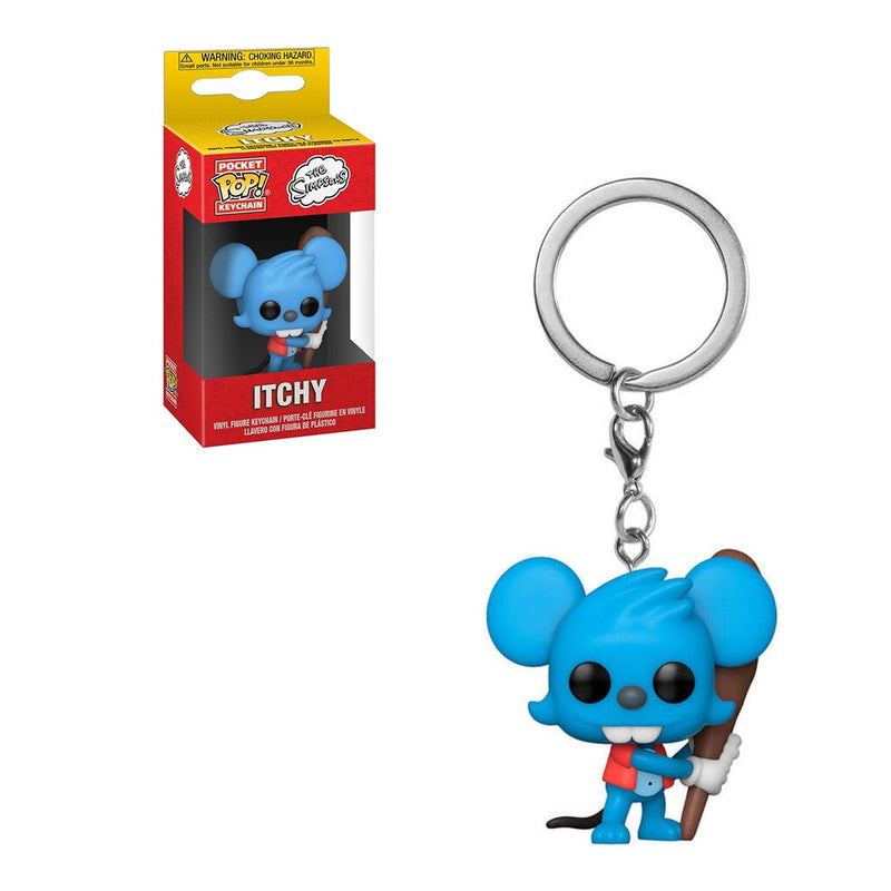 FUNKO POP KEYCHAIN TV THE SIMPSONS ITCHY