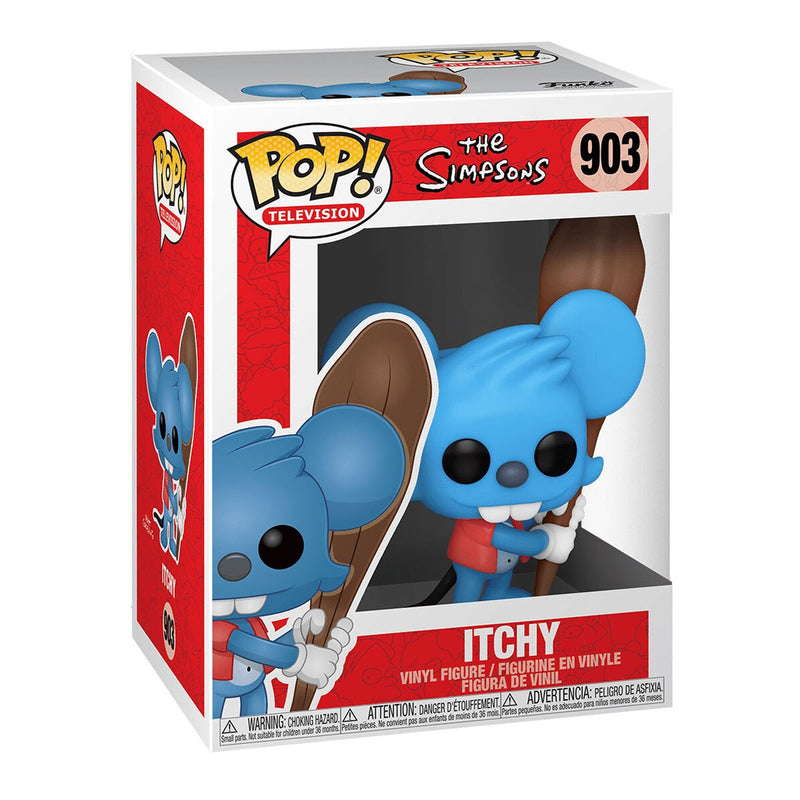 FUNKO POP TV THE SIMPSONS ITCHY 903