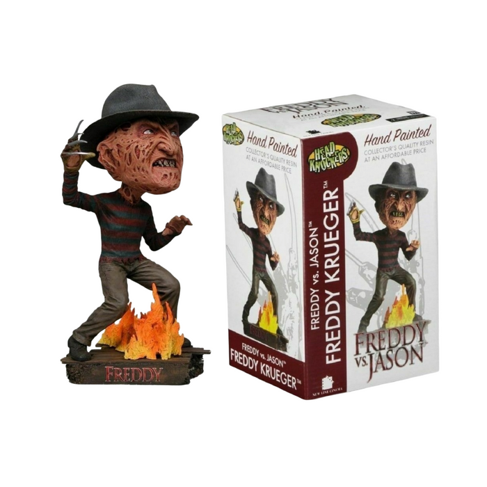 NECA HEAD KNOCKERS MOVIES FREDDY VS. JASON FREDDY KRUEGER