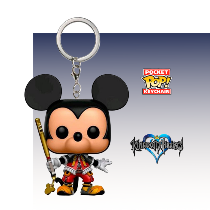 FUNKO KEYCHAIN GAMES DISNEY KINGDOM HEARTS MICKEY