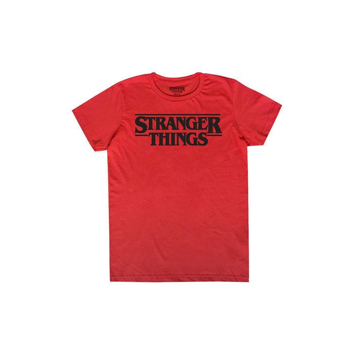 MASCARA DE LATEX PLAYERA CABALLERO STRANGER THINGS LOGO ROJA