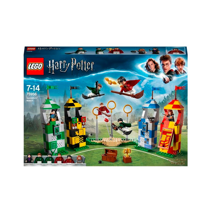 LEGO MOVIES HARRY POTTER PARTIDO DE QUIDDITCH