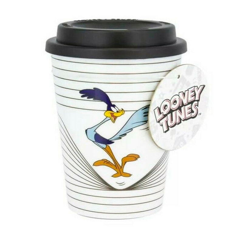 PALADONE ANIMATION LOONEY TUNES ROAD RUNNER TRAVEL MUG