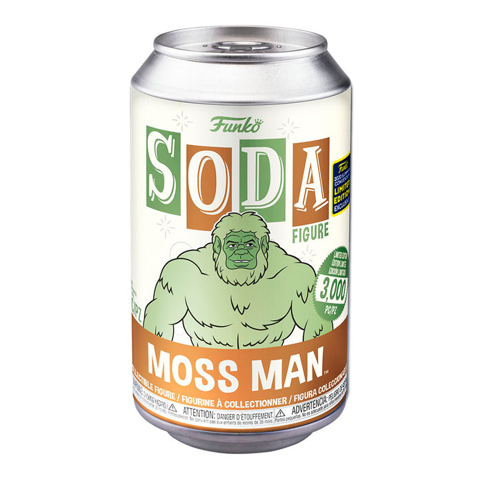 FUNKO VINYL SODA MOSS MAN SDCC 2020 EXCLUSIVO SAHARIS ¡PREVENTA!