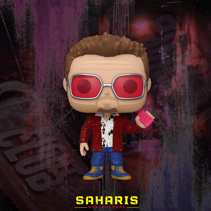 FUNKO POP MOVIES FIGHT CLUB TYLER DURDEN W/SOAP 919