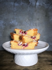Sweets - Coconut and Raspberry Torte with Orange Syrup